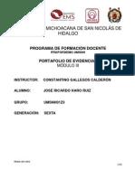 Portafolio 2012 sexta gen