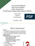 Solar Power Programs (WEEC) November 1, 2012-Nelson