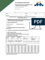 Math3 IB Second Partial Exam Type B