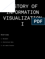 A History of Information Visualization I
