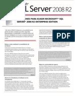 SQL Server 2008 R2 Enterprise Datasheet FINAL ES 07-11-13