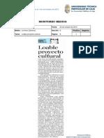 Informe de prensa semana del 26 octubre al 01 de noviembre de 2012
