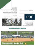 2012 Stormwatchers Brochure