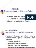 Instrumentos de Politica Economica