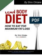Lean_Body_Diet by Shin Ohtake