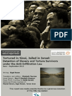 Tortured in Sinai Jailed in Srael Eng