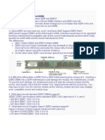 Difference Between DDR and DDR2