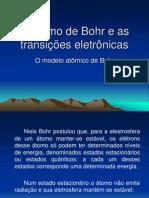 o Atomo de Bohr e as Transicoes Eletronicas