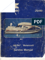 Polaris PWC 1992-1998 Factory Service Manual