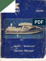 Jet Ski JS440 Manual