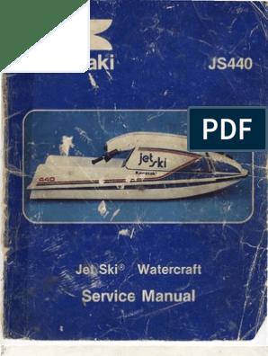 Jet Ski JS440 Manual | Piston | Battery (Electricity)