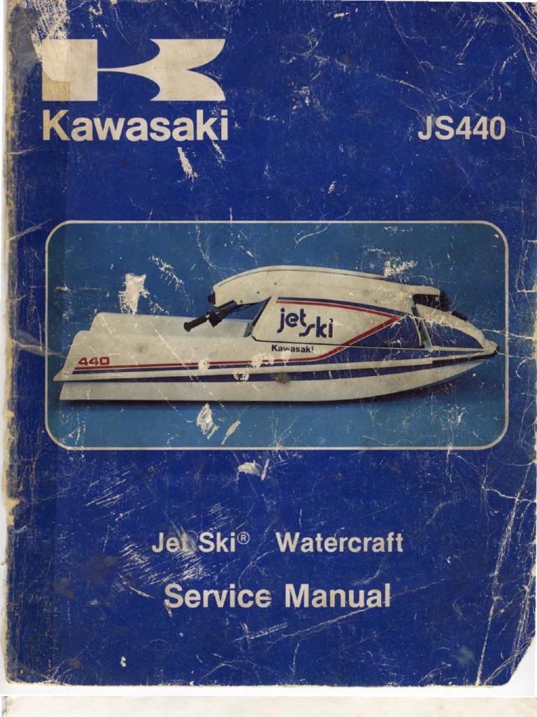 jet ski js440 manual piston carburetor rh es scribd com kawasaki ltd 440 wiring  diagram kawasaki 440 wiring diagram