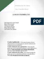 costo indirectos