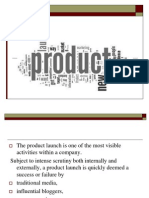 New Product Launch Audit