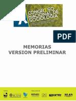 Ponencias Xcongreso Nal Sociologia