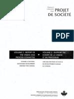 Planning for a sustainable future-Projet de société- volume 2