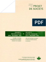 Planning for a sustainable future-Projet de société- volume 4