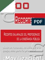 RECORTES ACUMULADOS