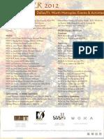 November 2012 Events & Activities Calendar