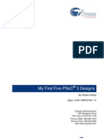 My First Five PSoC® 3 Designs_001-58878