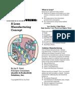 Cellular Manufacturing 2