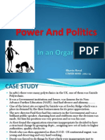 Power and Politics in Org