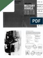 Military Vehicle Data No19