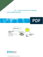 EA Principles - Overcome Complexity (1)