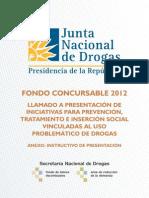 Fondo Concursable 2013 de la SND