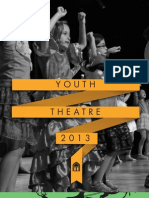 WCH Youth Theatre Programs Winter/Spring 2013