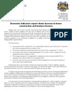 Third Quarter Economic Indicators