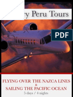 Flying Over the Nazca Lines & Sailing the Pacific Ocean