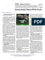 294 - $43 Trillion Dollar Lawsuit Awaits Obama White House and Banks