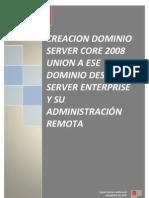 Instalación Active Directory Windows server 2008