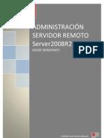 Administración remota desde Windows 7