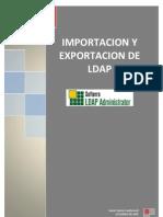 Importar y Exportar LDAP con Softerra