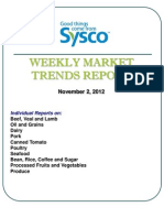 Weekly Market Trends Report Nov. 2 12