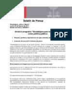 """29-08-2011 Arrancó programa """"Guadalajara para los Grandes"""" como política pública"""