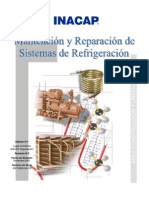 manenimiento y reparación de sistemas de refrigeración