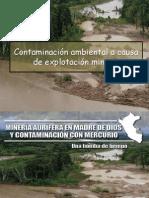 21- Contaminacion Ambiental a Causa de Explotacion Minera 2012