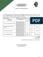 Edital n 005 - Resultado Final - PSS - Historia