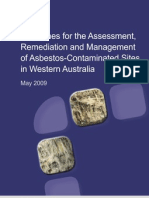Guidelines for the Assessment, Remediation and Management of Asbestos-Contaminated Sites in Western Australia