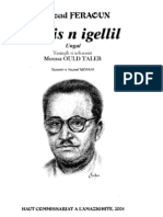 Mmis n Igellil - Mouloud Feraoun, trad. Moussa Ould Taleb - HCA 2004