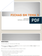 Fichas Sm Tema 3