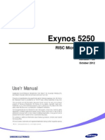 Samsung Exynos 5250 User Manual Public