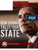 "How Obama Failed Your State - RNC ""Ten For Ten"" eBook Series"