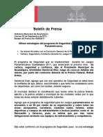 02-09-2011 Afinan Estrategias Del Programa de Seguridad Para Los Juegos Panamericanos.