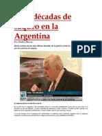 Seis décadas de saqueo en la Argentina- Walter Moore
