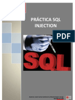 PRÁCTICA SQL INJECTION