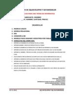 Examen de Sqldeveloper y Datamodeler